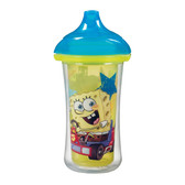 Munchkin Spongebob Squarepants Click Lock 9oz Insulated Sippy Cup