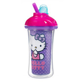 Munchkin Hello Kitty Click Lock 9oz Insulated Straw Cup