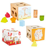 Vulli House of Shape Sorter, Sophie the Giraffe