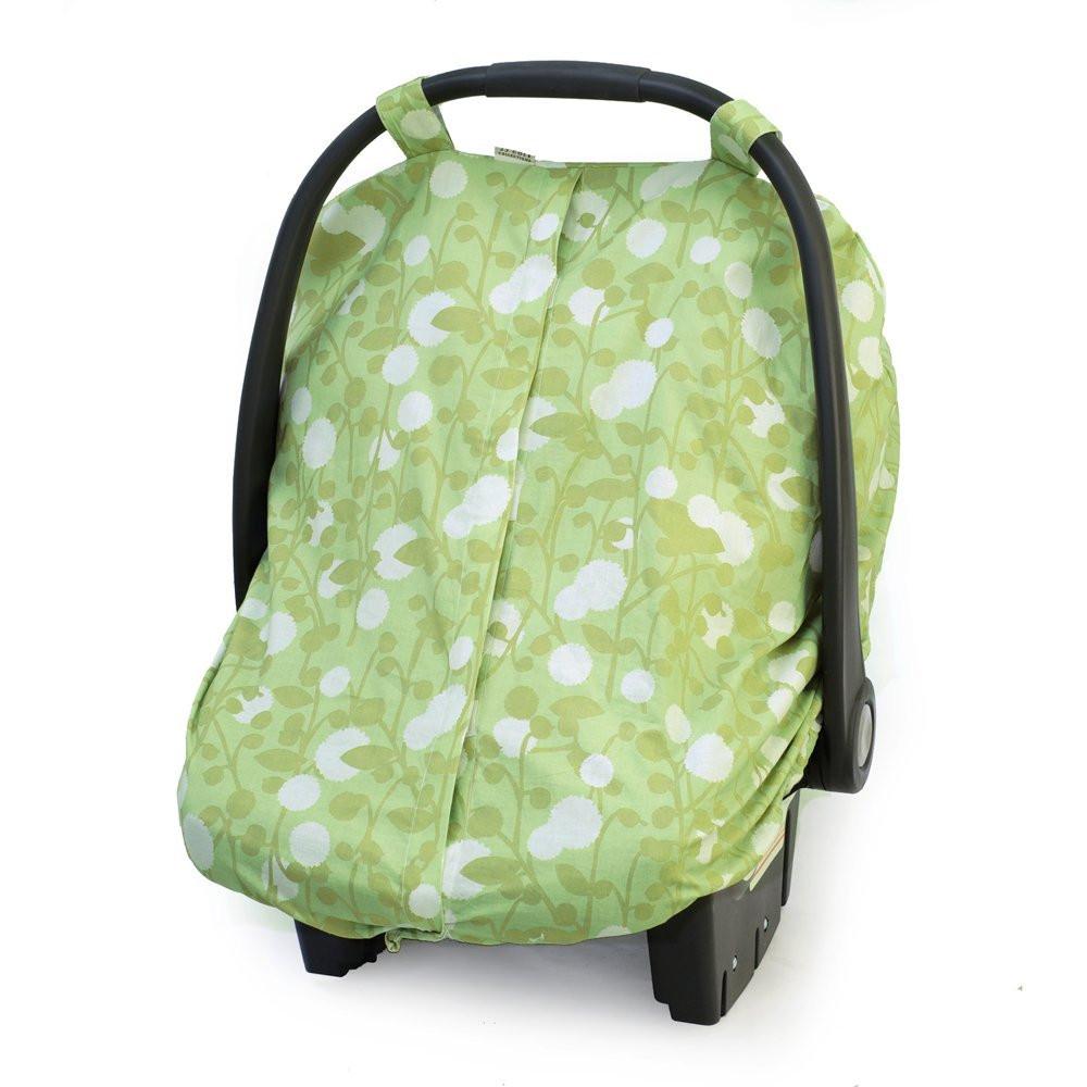 JJ Cole Car Seat Canopy Spring Cotton
