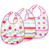 JJ Cole Bib Set, 3 pk, Girl