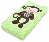 Summer Infant Changing Pad Cover, 1 pk, Monkey
