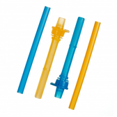 Munchkin Click Lock™ Replacement Straws with Valves, 2 pk (More Colors)