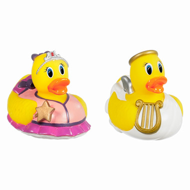 Exceptional Munchkin Super Safety Bath Ducky, Angel U0026 Princess