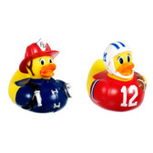 Munchkin Super Safety Bath Ducky, Fireman & Football Player