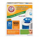 Munchkin Arm & Hammer™ Diaper Pail Bag Refills, 30 pk