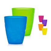 Nuby Fun Drinking Cups 9 oz, 4 pk (More Colors)