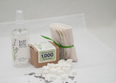 Baby Bits Baby Wipe Solution Starter Kit - All Natural Ingredients, Makes 1,000 Natural Wipes