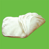 Glow Bug 18 Bamboo Cloth Diaper Inserts