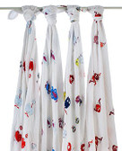 Aden + Anais Monster Mash Classic Swaddles 4-Pack
