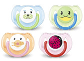 AVENT Silicone Animal Pacifiers, 6-18 m, 2 pk, BPA Free