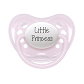 Little Mico Orthodontic Personalized Pacifier, Little Princess, 1pk