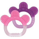 Green Sprouts Sili Paw Teether, Pink/Lavender, 2 pk