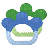 Green Sprouts Sili Paw Teether, Blue/Green, 2 pk