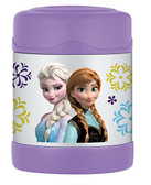 Thermos 10 oz Funtainer Food Jar, Frozen Purple