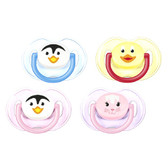 AVENT Silicone Animal Pacifiers, 0-6 m, 2 pk, BPA Free (More Colors)