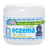 TruBaby Sweet Eczema Baby Cream Unscented, 4oz