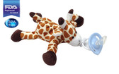 CuddlesMe Pacifier with Detachable Plush Giraffe