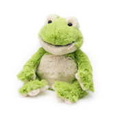 Intelex Warmies Cozy Plush Microwavable Warmer, Frog