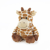 Intelex Warmies Cozy Plush Microwavable Warmer, Giraffe