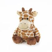 Intelex Warmies Cozy Plush Microwavable Warmer, Giraffe