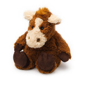 Intelex Warmies Cozy Plush Microwavable Warmer, Horse