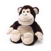 Intelex Warmies Cozy Plush Microwavable Warmer, Monkey