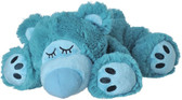 Intelex Warmies Cozy Plush Microwavable Warmer, Blue Sleepy Bear