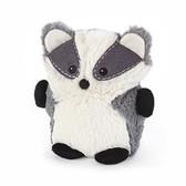 Intelex Warmies Cozy Plush Microwavable Warmer, Hooty Friend Badger