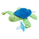 Dr Brown's Lovey with One-Piece Silicone Pacifier, Turtle