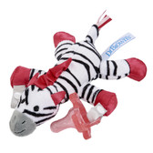 Dr Brown's Lovey with One-Piece Silicone Pacifier, Zebra