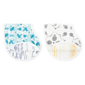 Aden + Anais Classic Burpy Bibs 2-Pack, Kindred