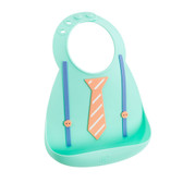 Make My Day Soft Silicone Baby Bib 1 pk, The Derby