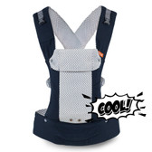 Beco Gemini Baby Carrier with Pocket, Cool Navy