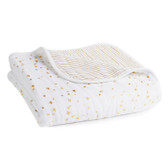 Aden + Anais Classic Dream Blanket, Metallic Gold