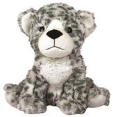 Intelex Warmies Cozy Plush Microwavable Warmer, Snow Leopard