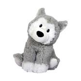 Intelex Warmies Cozy Plush Microwavable Warmer, Husky