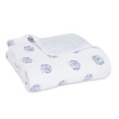Aden + Anais Classic Dream Blanket 1 pk, Thistle - Hedgehogs