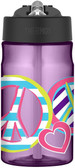 Thermos Tritan 12 oz Hydration Bottle, Peace