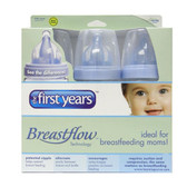 The First Years Breastflow Bottles 9oz, 3-pack, BPA Free