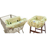 Itzy Ritzy Shopping Cart and High Chair Cover