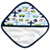 JJ Cole Washcloth Set, 3pk White Vroom