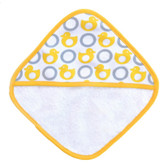 JJ Cole Washcloth Set, 3pk Yellow Duck
