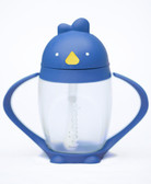 Lollacup Infant & Toddler Straw Cup, 10 oz Blue