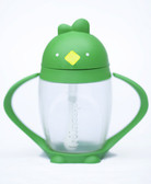Lollacup Infant & Toddler Straw Cup, 10 oz Green