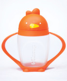 Lollacup Infant & Toddler Straw Cup, 10 oz Orange