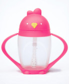 Lollacup Infant & Toddler Straw Cup, 10 oz Pink