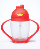 Lollacup Infant & Toddler Straw Cup, 10 oz Red