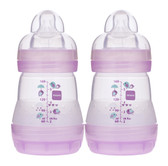 MAM Anti-Colic Bottles, 5 oz, 2 pk