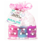 Piggy Paint Nail Polish Gift Set, Birthday Bash
